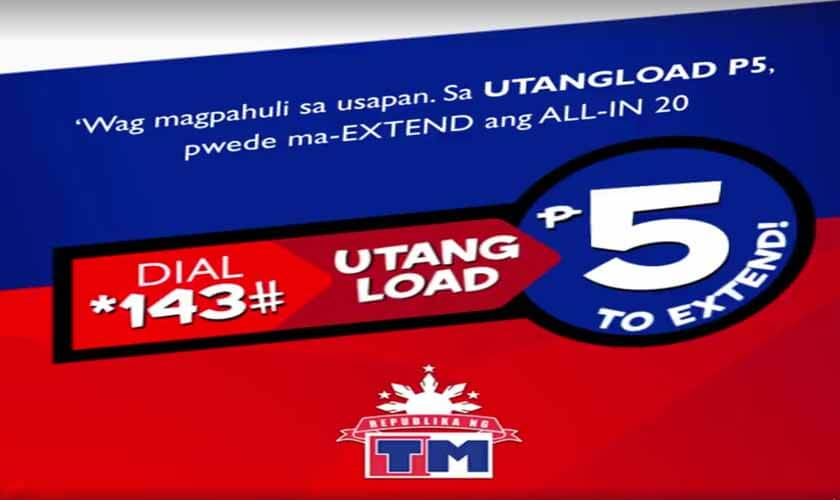 How to Use TM Utang Load – Loan a Call, Text and Internet Promo