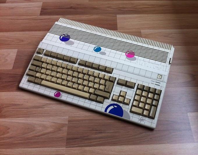 Commodore Amiga 500 New Art bubbles