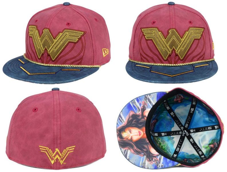 be9db946 The Blot Says...: Wonder Woman Movie Hat Collection by New Era Cap x ...