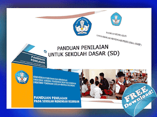 Download Panduan Penilaian SD,SMP,SMA,SMK Kurikulum 2013