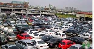 Cars in a Car Dealership