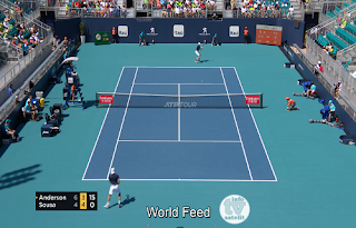 ATP 1000 Miami Open AsiaSat 5 Biss Key 26 March 2019