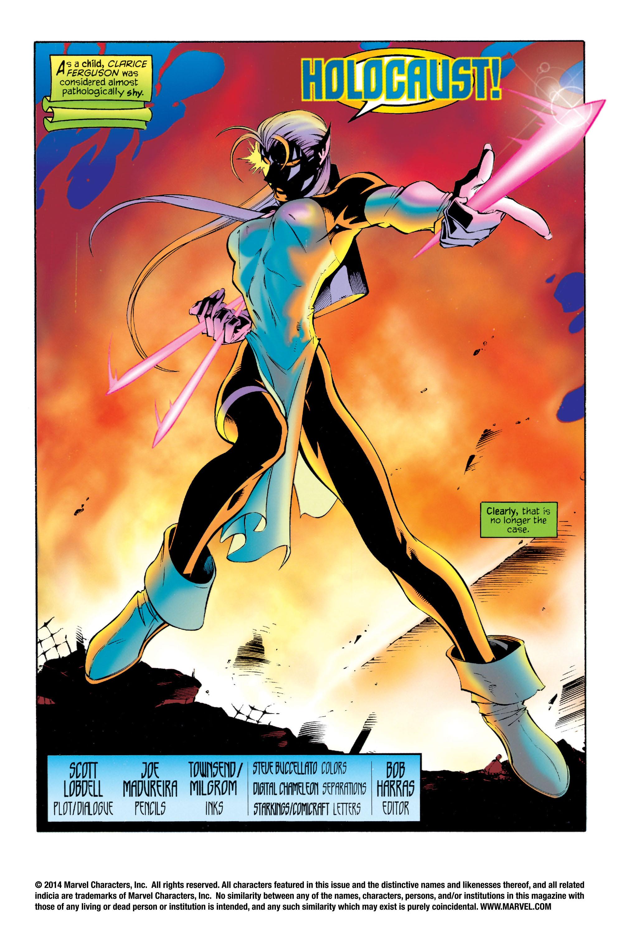 Read online Astonishing X-Men (1995) comic -  Issue #4 - 2