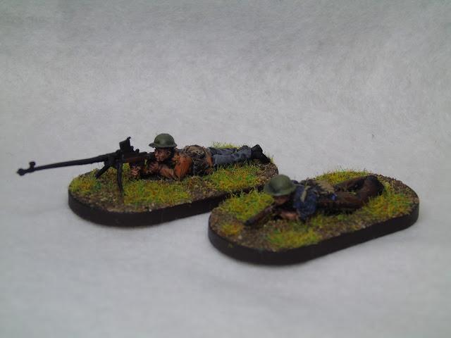 vbcw at rifle team footsore minatures