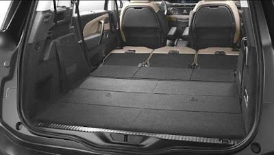 Citroën Grand C4 Spacetourer Coffre avec 2 places