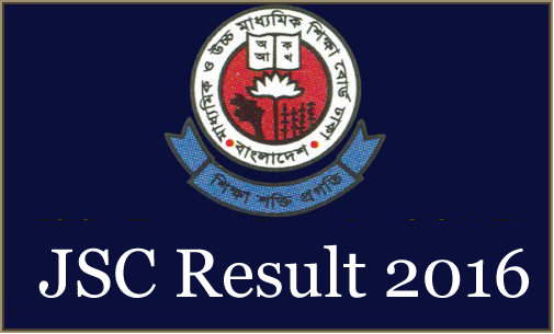 JSC Result 2016 - educationboardresults.gov.bd