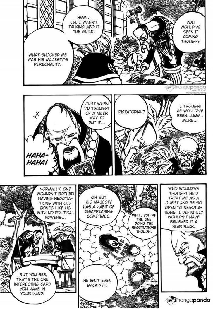 Fairy Tail Ch 444: Emperor Spriggan