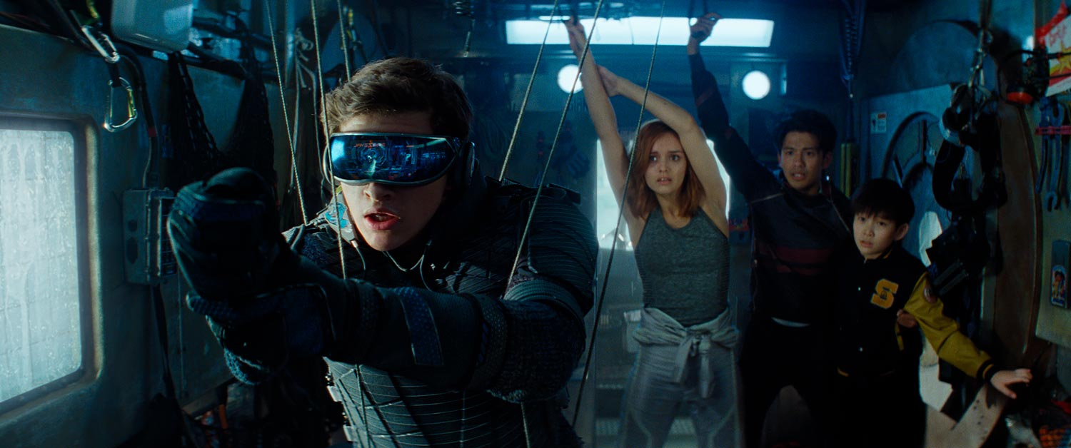 READY PLAYER ONE - protagonistas