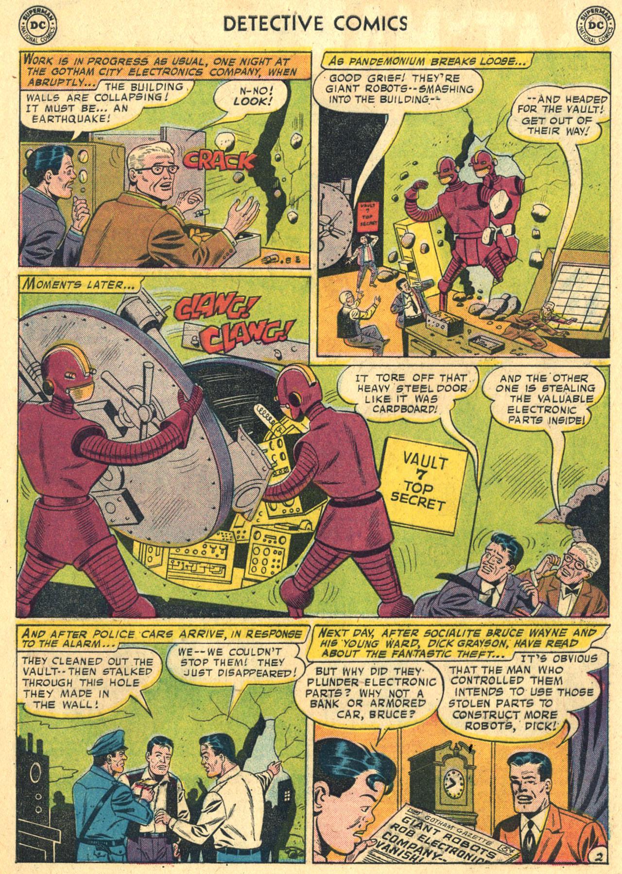Read online Detective Comics (1937) comic -  Issue #258 - 4