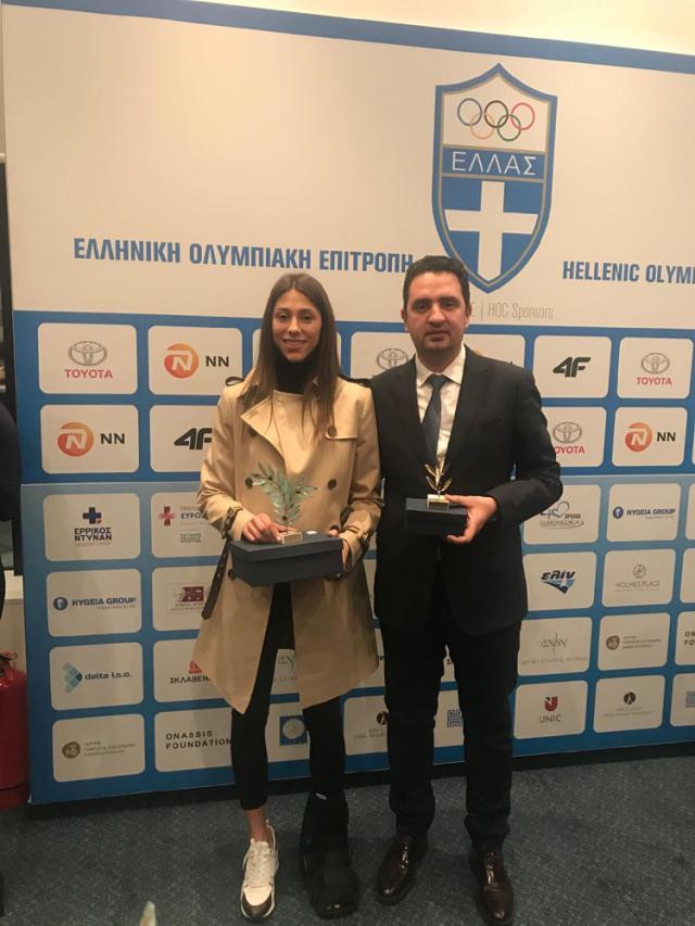 Ταεκβοντό Κυπαρισσίας: Κορυφαία αθλήτρια η Άννα Γιακουμοπούλου, στους κορυφαίους προπονητές ο Π. Αλεξόπουλος