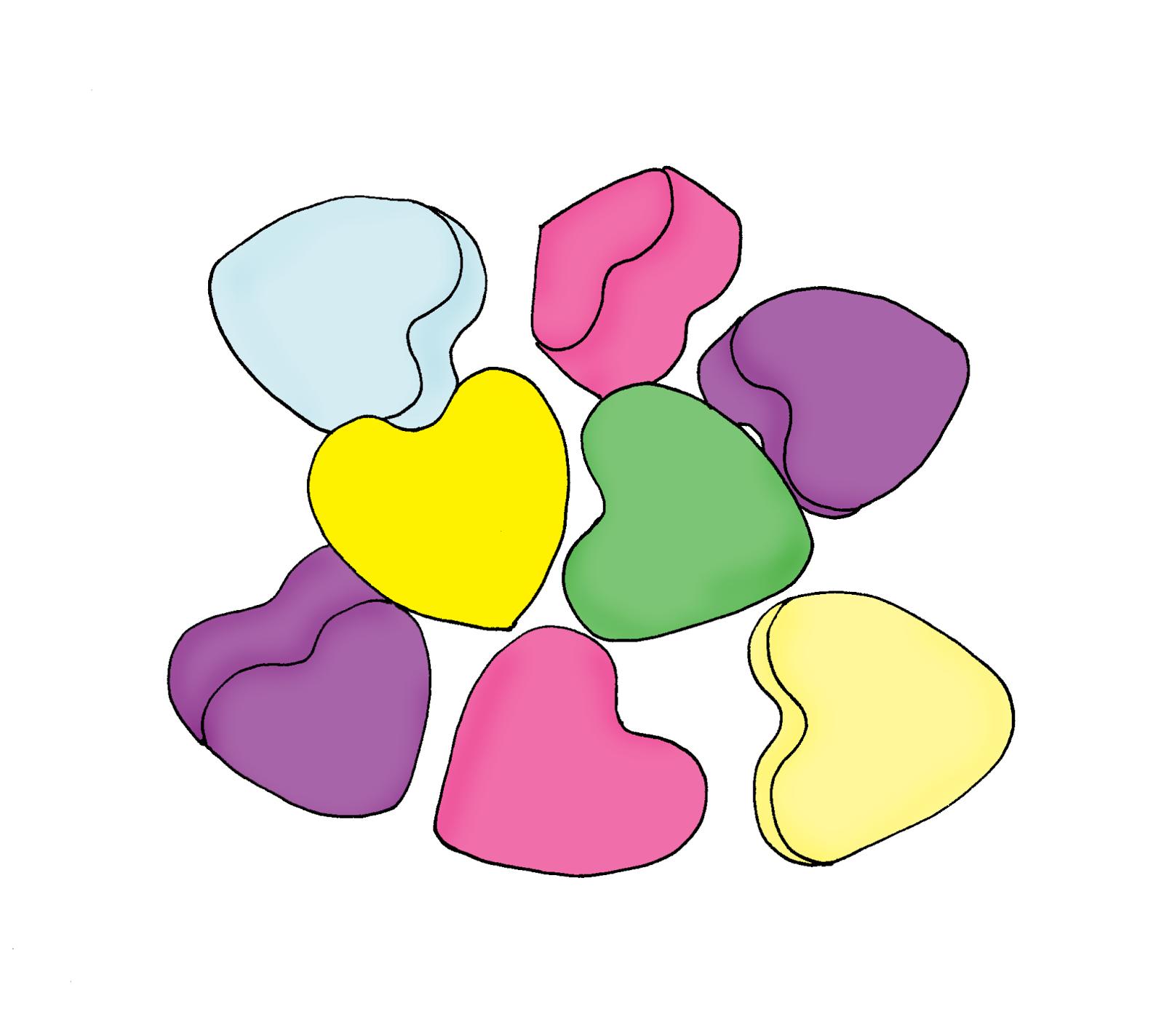 Free Dearie Dolls Digi Stamps: Conversation Hearts