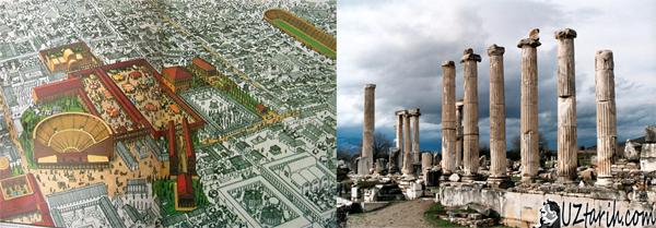 afrodit tapınağı, aphrodite temple