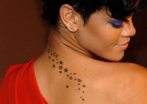 tatuajes para mujeres lluvia de estrellas