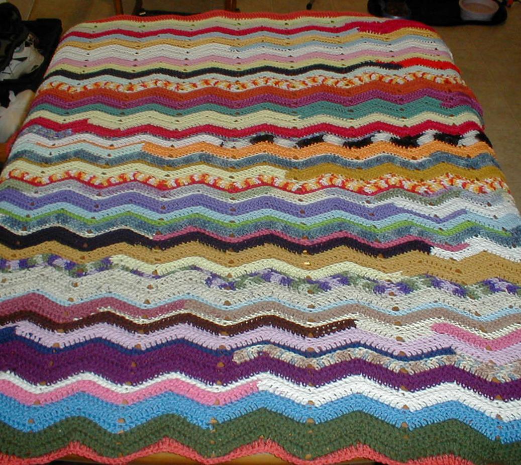 Karens Crocheted Garden Of Colors June 2013