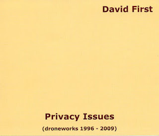 David First, Privacy Issues (Droneworks 1996-2009)
