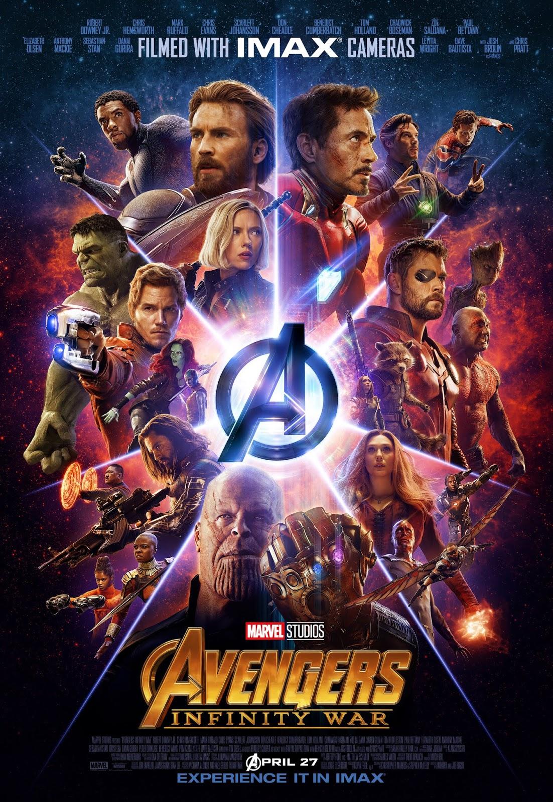 Download HD!. Avengers: Infinity War (2018) Full English ...