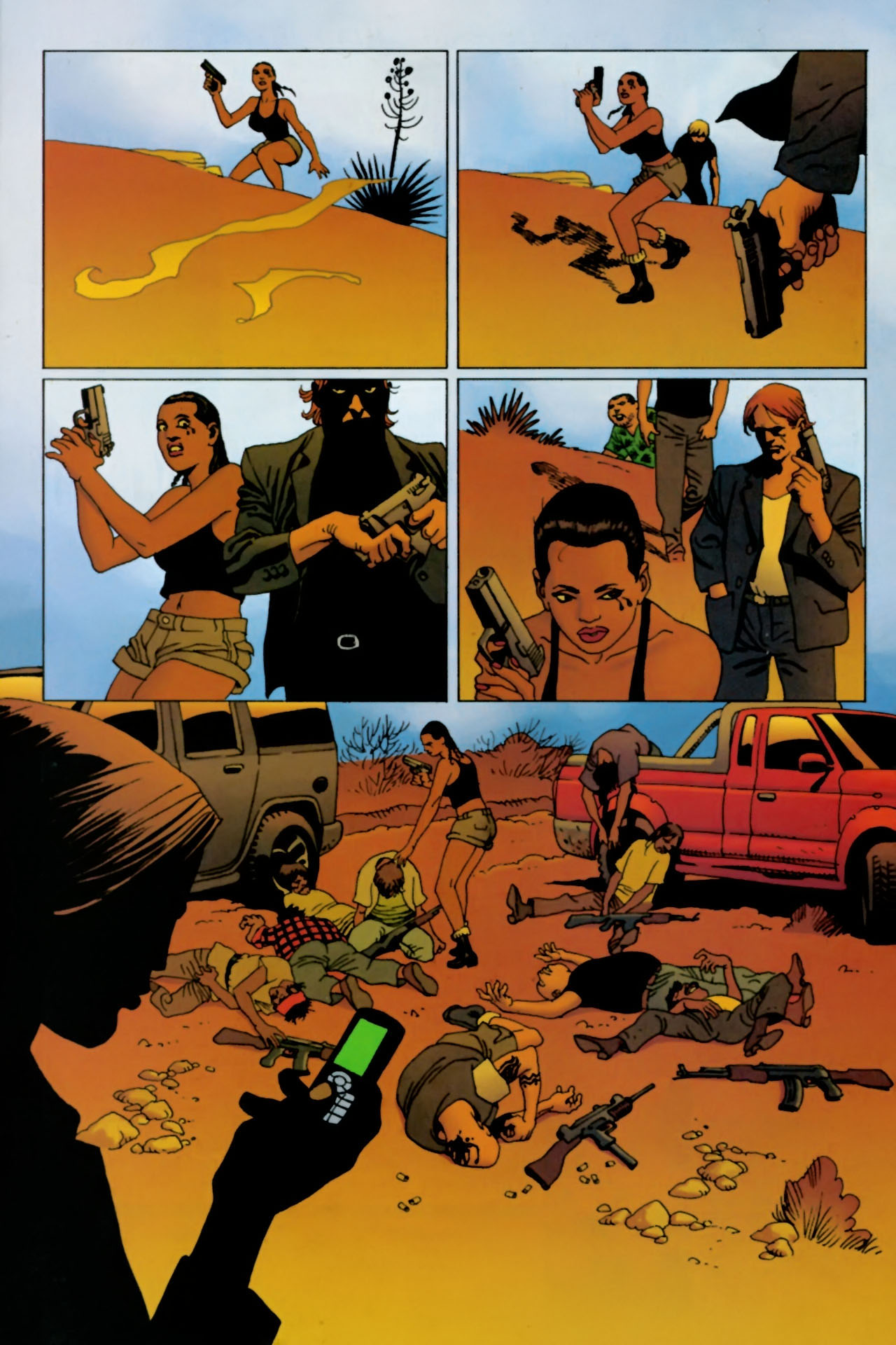 Read online 100 Bullets comic -  Issue #77 - 22