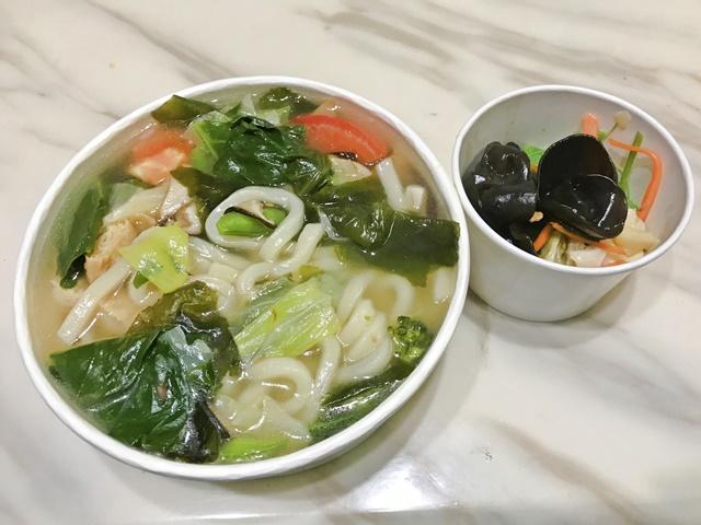 日式昆布烏龍湯麵