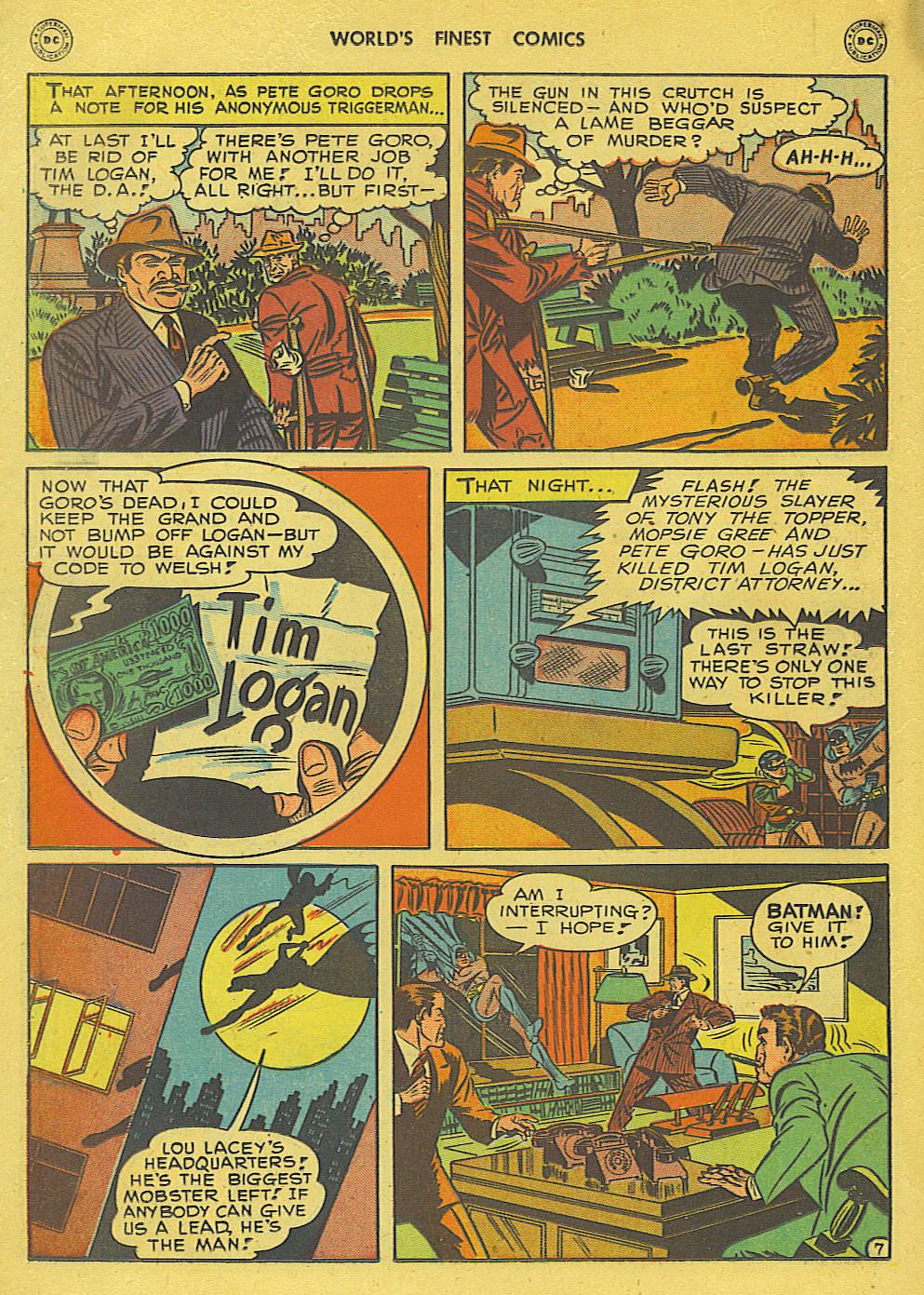 Read online World's Finest Comics comic -  Issue #34 - 68