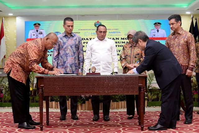 Pada 2020 Perkebunan Prioritas Pembangunan Sumut