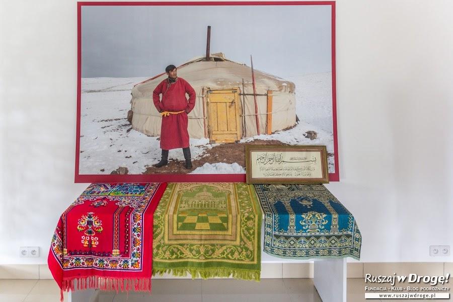 Tatarska Jurta w Centrum Edukacji w Kruszynianach