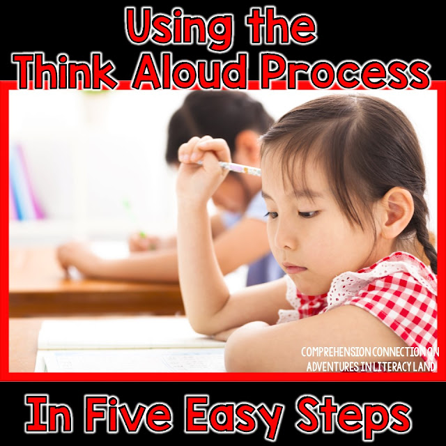 If you have struggling readers who seem to be word callers, than this post is for you. Check out how the Think Aloud Process can help you scaffold instruction for your students in this post.