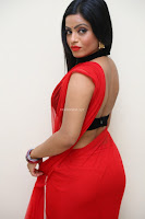 Aasma Syed in Red Saree Sleeveless Black Choli Spicy Pics ~  Exclusive Celebrities Galleries 065.jpg