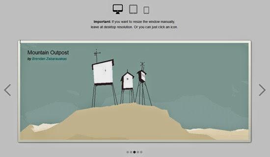 Responsive CSS3 slider