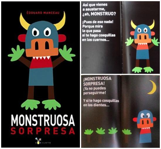 selección cuentos sobre miedo a los monstruos y como superarlo: monstruosa sorpresa