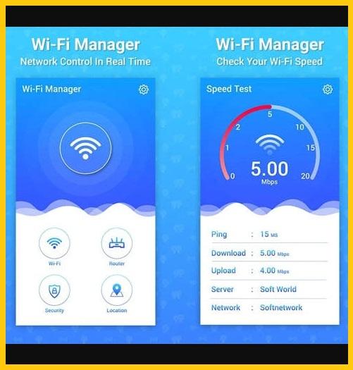 Aplikasi #2 Penguat Sinyal WiFi Android Dengan WiFi Manager