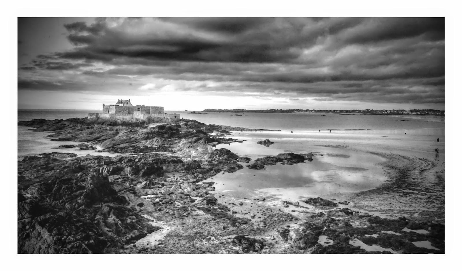Fort National en face de Saint Malo