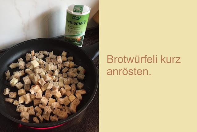 Brotwürfeli Croutons