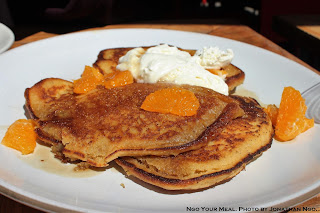 Quinoa Pancakes: Clementines and Pennsylvania Maple at Charlie Bird