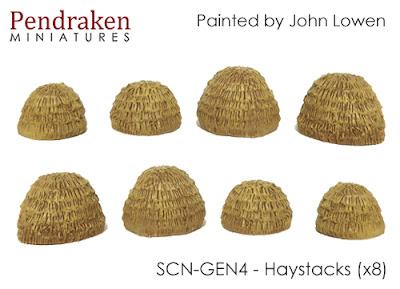 SCN-GEN4    Haystacks x 8