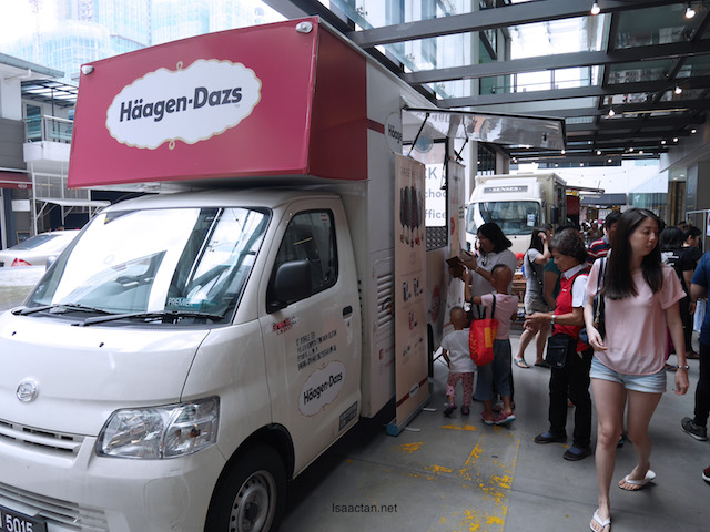 Even Haagen Dazs was there! Oh yums!