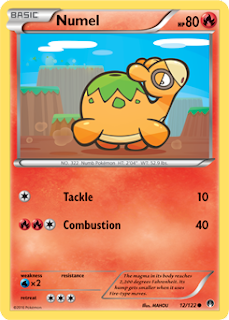 Numel BREAKpoint Pokemon Card