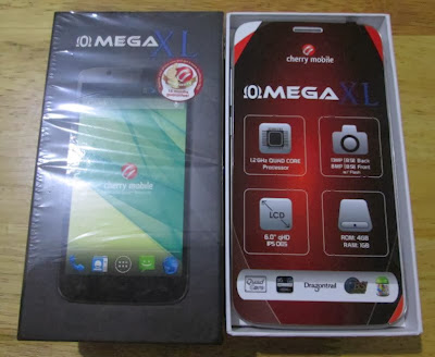 Cherry Mobile Omega XL Unboxing