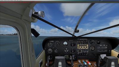 C185F Cockpit Panel
