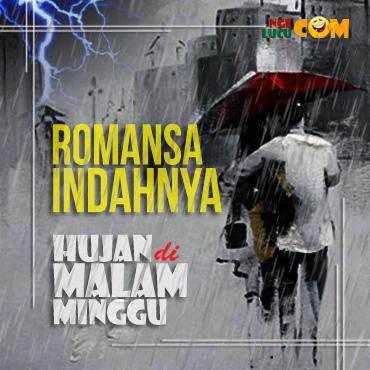Gambar DP BBM  Lucu Malam Minggu Hujan