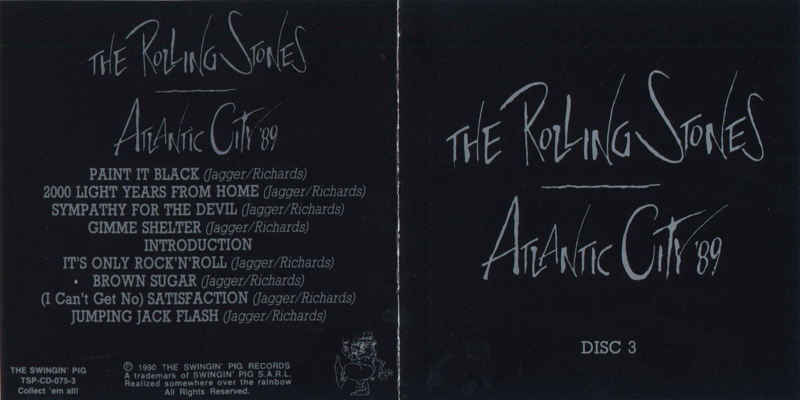 T U B E The Rolling Stones 1989 12 19 Atlantic City