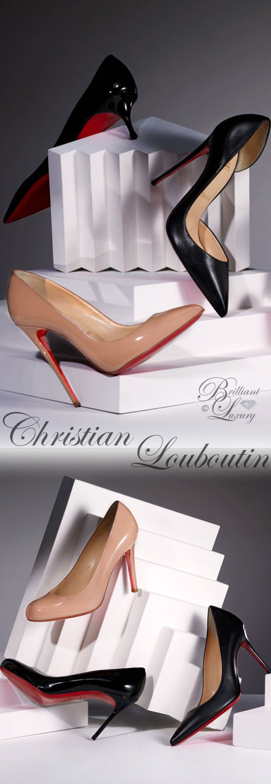 Brilliant Luxury ♦ Christian Louboutin best evening shoes