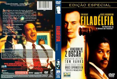 Filme Filadélfia (Philadelphia) DVD Capa