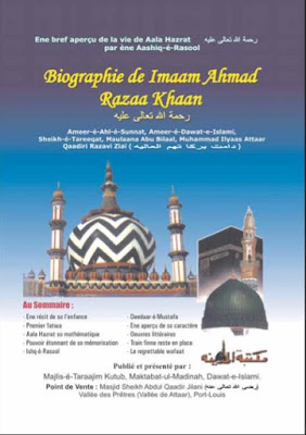 Biographie De Imaam Ahmad Razaa Khaan pdf in Creole