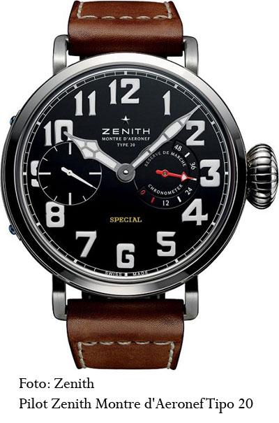Pilot Zenith Montre d'Aeronef Tipo 20