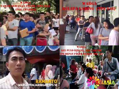 Warga DKI Jakarta Yang Tidak Mendapatkan Hak Suaranya Terjadi Diberbagai Wilayah