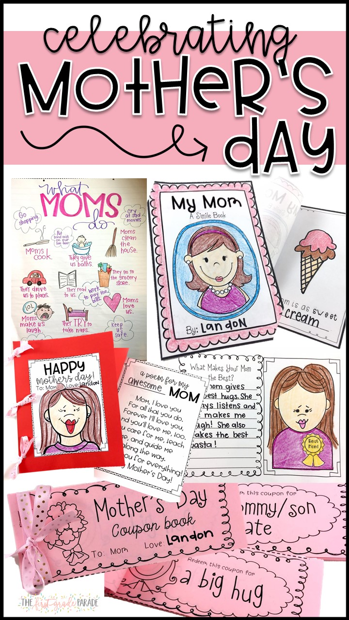 Well today I wanted to share with you some Mother's Day ideas so that this  doesn't sneak up on you and leave you without a spare second to plan. Shall  we?!