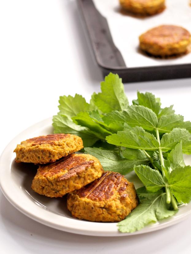 #Recipe : Oil-Free Vegan Lentil Falafel