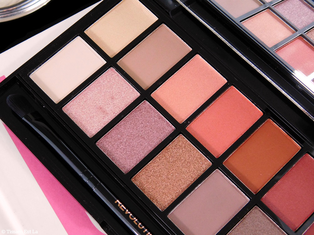 Makeup Revolution | New-Trals vs Neutrals Eyeshadow Palette Review & Swatches - Avis