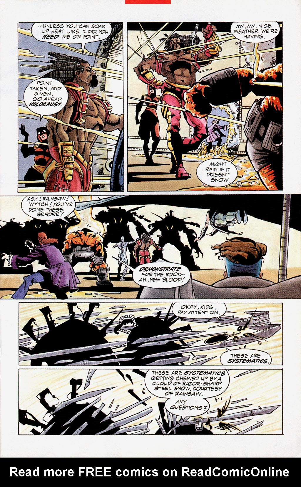 Read online Shadow Cabinet comic -  Issue #0 - 8