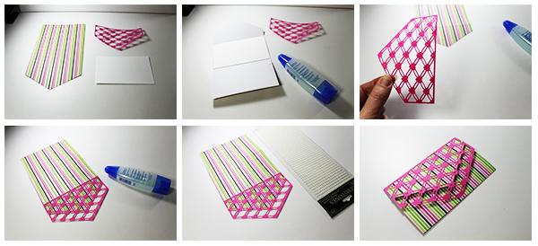 JMRush Designs Valentine Tri-Fold Card - Tri Fold Card